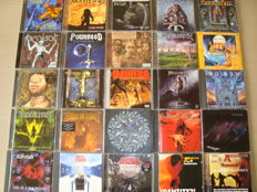 Hard & Heavy: Collection of 25 Great Metal CD's: Sepultura / Cradle Of Filth / Children Of Bodom / My Dying Bride / Korn / Megadeth / Dimmu Borgir / Pantera... And Many More!!!
