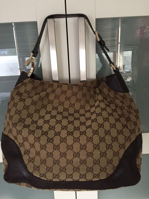 4df850067b16 Gucci - Large Charlotte GG Hobo GG Bag - Catawiki