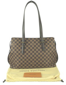 Louis Vuitton - Damier Ebene Canvas Chelsea Tote Bag
