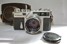 Nikon SP with nikkor 5cm f 1.4, circa 1957