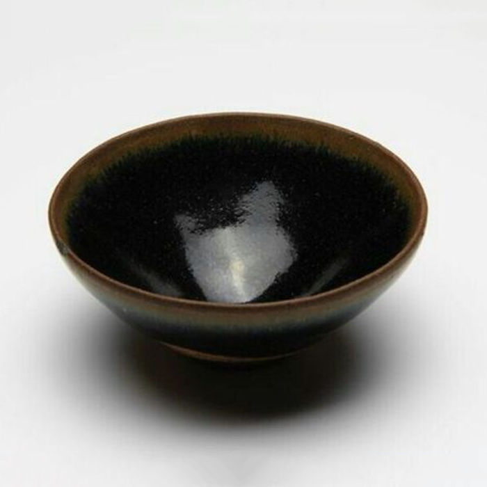 A Chinese kiln 'hare's fur' bowl -  China - Southern Song Dynasty, AD 1127 - 1279