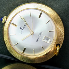 Edox - Diamatic RARE pocket watch - Heren - 1970-1979
