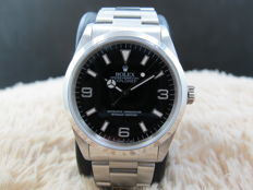 1996 ROLEX EXPLORER 1 14270 BLACK DIAL (T25) WITH MINT CONDITION