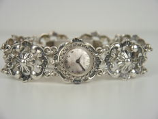 Traditional costume silver women's watch 835 silver