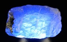 Genuine Tanzanite - natural Blue colour breathtaking - 2,3 x 1,7 x 1,0 cm - 7,23 gm - 36,15 ct
