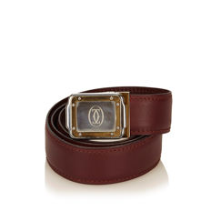 Cartier - Logo Leather Belt