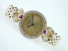 Juvenia - 18K Diamonds 1.4 CARAT - Ladies Watch - 2000's
