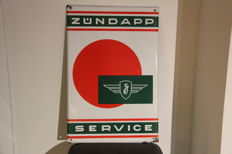 Zündapp original advertising sign
