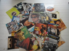 Nice set rock, disco, funk and soul elpees 75 pieces +
