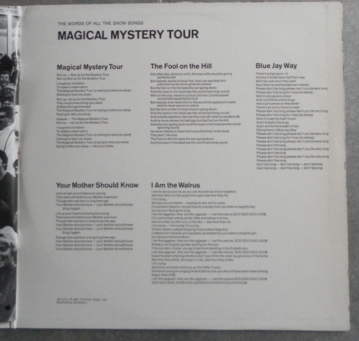 The Beatles Magical Mystery Tour Complete With 24 Page