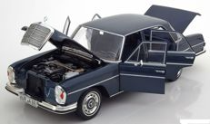 Norev - Scale 1/18 - Mercedes-Benz 280SE Limousine 1968 - Colour Blue Metallic