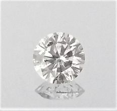 Diamond Of 1.00 carat , D color , SI2 clarity , UNTREATED , AIG certified + Laser Inscription on Girdle