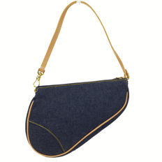 Christian Dior - Denim Saddle Clutch bag - *No Minimum Price*