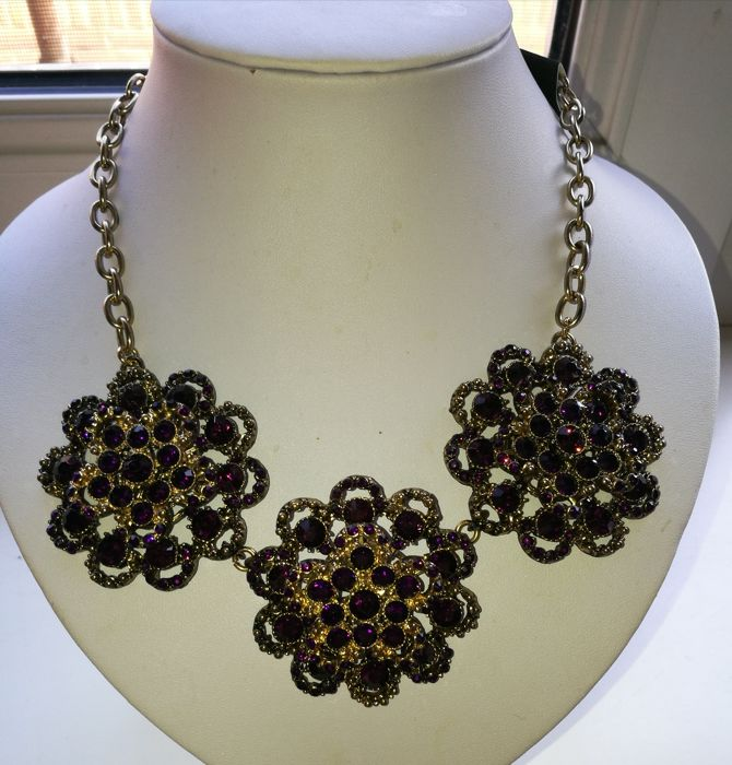 Joan Rivers gorgeous necklace