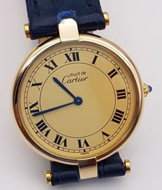 Cartier - Must Vermeil 30mm - 女士 - 1990-1999
