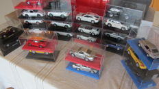 Divers - Scale 1/43-1/34 - Lot with 24 x Porsche