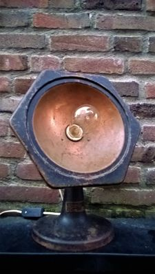 Metal Industrial Wall lamp / Floor lamp - Vintage - Made in Holland - first half of 20th century