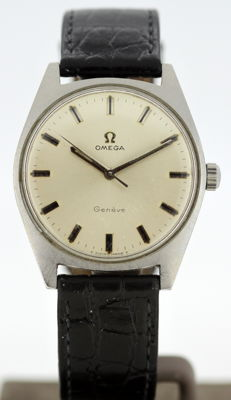 Omega - Vintage mens manual winding wristwatch, Circa.1960's