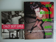 Photography; Lot with 2 photo books by Ralf Vulis - 1998/1999