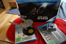 Star Trek Three Movie Collection included Cufflinks Steelbook Blu Ray NEW limited + Star Trek Beyond inkl. Spaceship [3D Blu-ray] [Limited Edition]