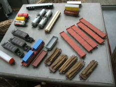 Roco/Electrotren/Lima H0 - lot with  27 goods wagons
