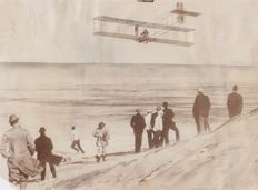 Brown Bros/ NEA/ Culver - Early aviation - 1903 and 1907