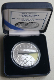 Finland - 10 Euro 2002 'Olympic Games - 50 years since the Helsinki Olympics' - silver