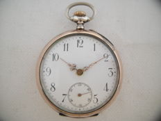 Pocket watch Ancre Spriral Breguet Compensator  - No Reserve - Heren