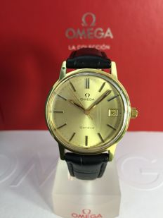 Omega - Geneve gold calibre 1030 - vintage around 1970, date