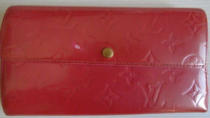 Authentic Louis Vuitton Long Wallet Portefeuille Sarah Pinks - Catawiki 214753c772c