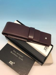 Montblanc Meisterstück Pen Pouch For 2 Writing Instruments