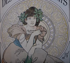 Alphonse Mucha - Art Decoratif - original cover lithograph
