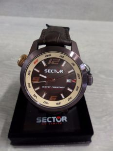 Sector - Oversize 3H - men's Wristwatch - 2017 - New