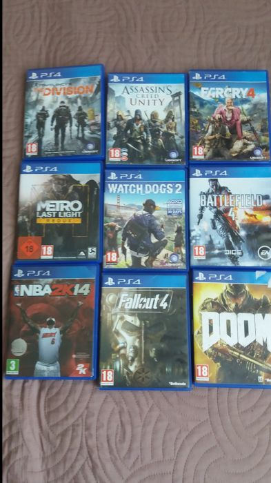 0b2204cee 9 PS4 games - The Division + Battlefield 4 + Assassin's creed unity ...