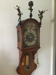 Antique Frisian Short tail clock - Period approximately 1820