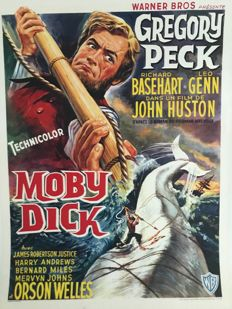 Anonymous - Moby Dick (Gregory Peck) - 1956.