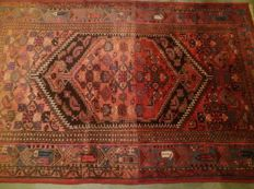 Unique hand-knotted Persian carpet, Iran. 220-140 cm, 20th century