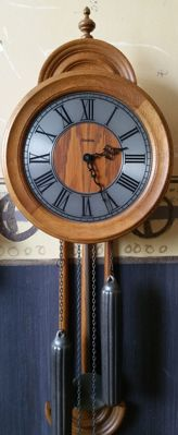 Hermle table clock from 1977