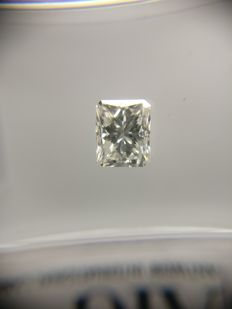 0.51 ct Radiant cut diamond G SI1