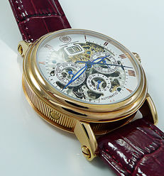 Constantin Durmont men's wristwatch - Automatic Skeleton - NEW