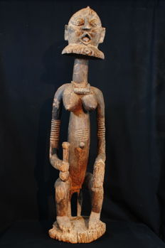 Large figurine in the Niongom type from the region of Toro, at the East of the Bandiagara Cliffs - DOGON - Mali