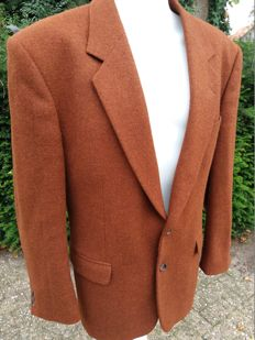 Harris Tweed for Stylemaster - Handvervaardigde jas in nieuwstaat