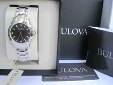 Bulova - Black Dial Diamond 96P153- Women - 2011-present