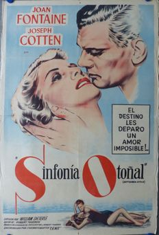 Anonymous - Sinfonia Otoñal / September Affair (Joan Fontaine) - c. 1951