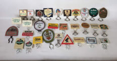 30 tap signs - various brands - late 20th century