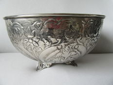 Large silver plated Wine cooler, 20th century France.