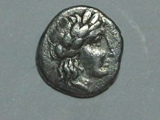 Ancient Greece - SIKYONIA - SICYON - AR Obol (ca. 350-320 BC). VF. Rare.
