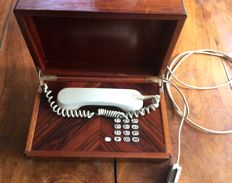 rare VIP phone white in box in rosewood of Rio