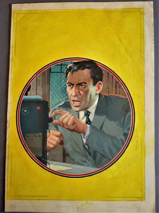Carlo Jacono - original cover - Giallo Mondadori #89 - First edition - (1958)