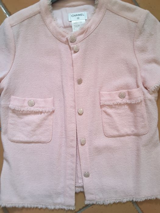 Coco Chanel pink jacket size 40 FR